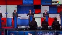U.S. Republican Debate Without Trump Still Featured Trump