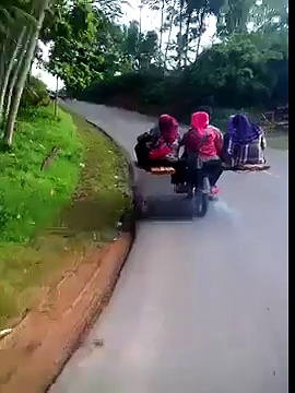 Motorcycles with Many Passengers