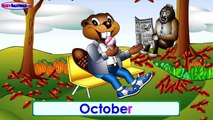 BBTV S1 E2 Halloween Special   Busy Beavers TV Show   Baby Nursery Rhyme Television