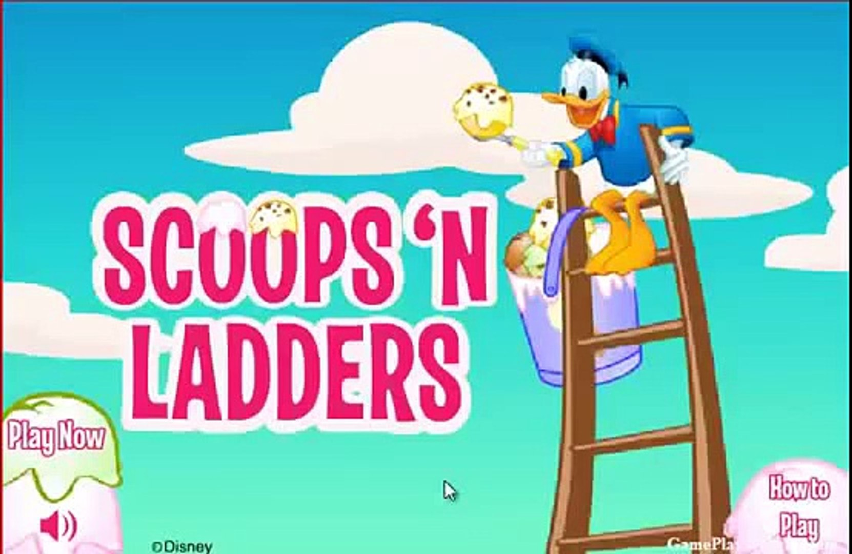 Disney Donald duck ice cream scoops gameplay A New disney video game! jeux video en ligne 3s3ESyKx9