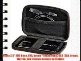 Hama 2.5 HDD Case EVA brown - fundas HDD/SSD (EVA brown Marr?n EVA (Etileno Acetato de Vinilo))