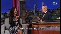 Kerry Washington al David Letterman 02 10 2013 (sub ita)