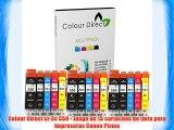 Colour Direct ci-3s 550 - Juego de 15 cartuchos de tinta para impresoras Canon Pixma