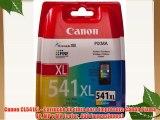 Canon CL541XL - Cartucho de tinta para impresora Canon Pixma iP MP y MX (color 400 impresiones)