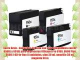 Encre Breiz - Cartuchos de tinta con chip compatibles con HP 950XL y 951XL para impresoras