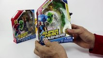 MARVEL SUPER HERO MASHERS Iron Fist and Wolverine Toy Review
