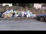 """Aversa (CE) - Rifiuti, lo """"spettacolo"""" di Via De Chirico (29.01.16)"""