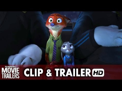 ZOOTOPIA New Clip 'Fur of a Skunk' + Trailer - Disney animation [HD]