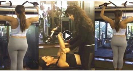 Deepika Padukon Gym Workout Best Biecep Workout
