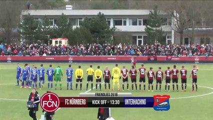 1. FC Nürnberg vs SpVgg Unterhaching 30-01-2016