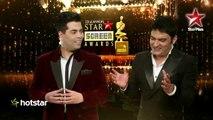 Star Screen Awards- Karan Johar's comeback for Kapil Sharma