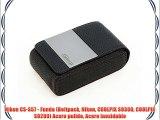Nikon CS-S57 - Funda (Beltpack Nikon COOLPIX S9300 COOLPIX S9200) Acero pulido Acero inoxidable