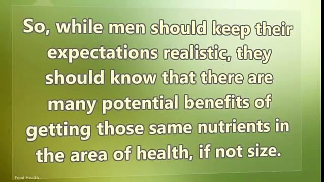 Penis Health 8 Foods to Eat