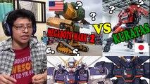 BATALLA REAL DE ROBOTS GIGANTES 2016 – USA (MEGABOTS MARK 2) vs JAPON (KURATAS)