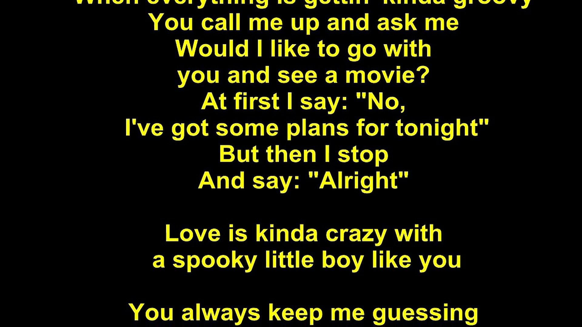 Dusty Springfield – Spooky Lyrics - video dailymotion