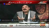 Sheikh Rasheed Said Raheel Shareef Must continue as COAS