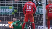 1-0 Romain Saïss Goal France  Ligue 1 - 30.01.2016, Angers SCO 1-0 AS Monaco