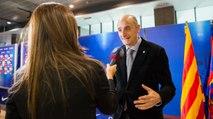 Jordi Moix explica el proyecto ganador del Nuevo Palau Blaugrana