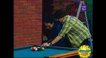 Clases de pool con el campeón mundial en El Muro de Morandé con Compañía