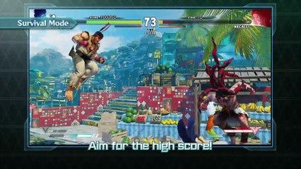 Street Fighter V -  Games Mode Trailer de Street Fighter V