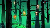 Five Big Werewolves | Nursery Rhymes | Kids Songs And Kids Video