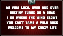 Mi Vida Loca (My Crazy Life) - Pam Tillis tribute - Lyrics