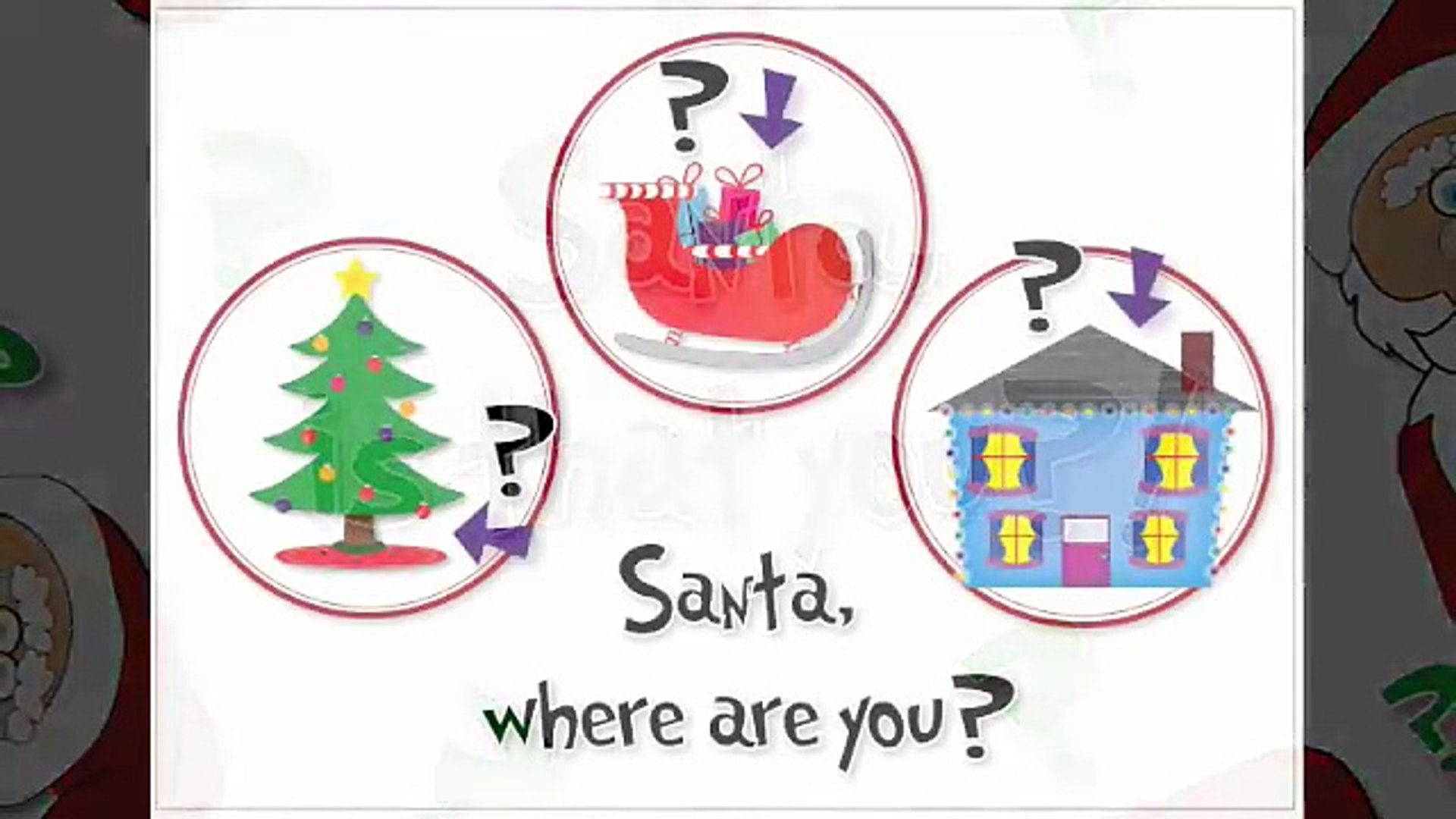 Image result for santa where are you