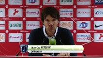 Réaction de Jean-Luc Vasseur après Stade Brestois 29 - Paris FC
