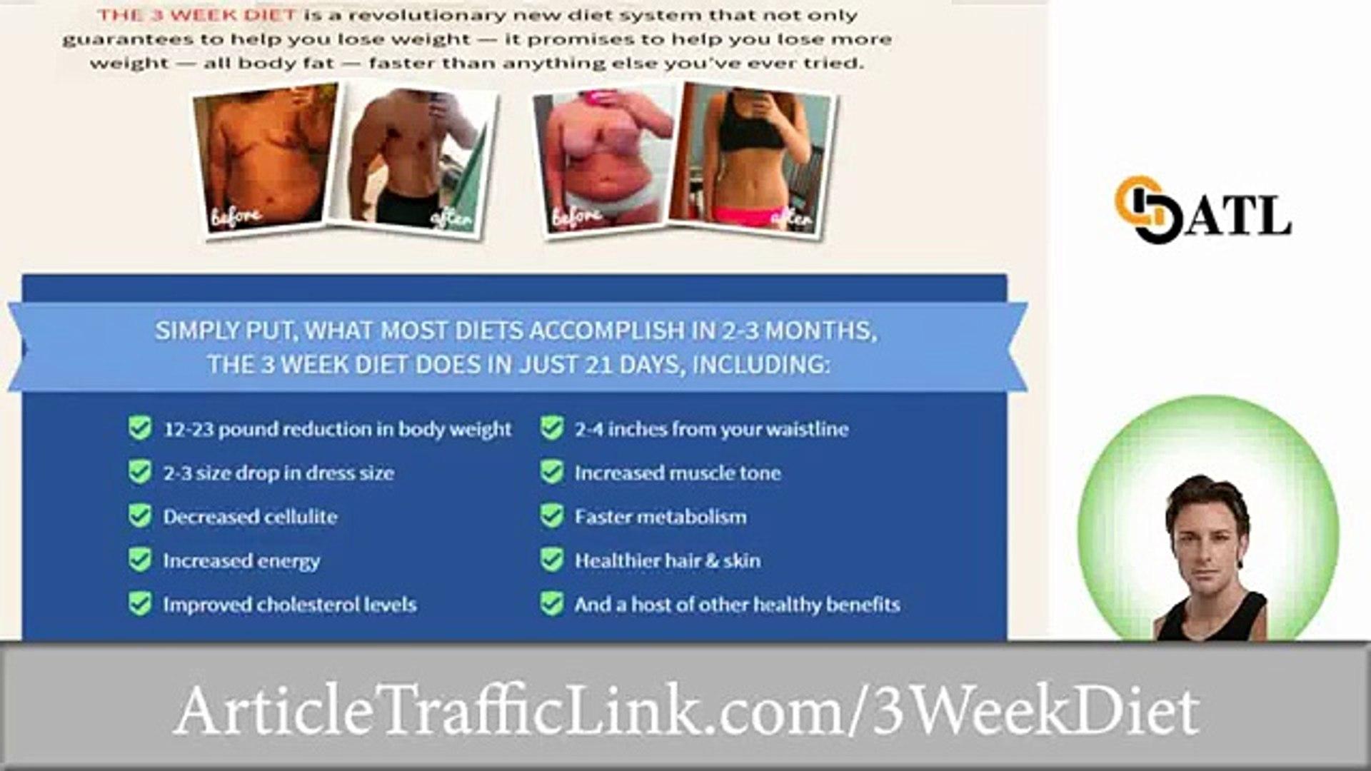 3 Week Diet System Plan Review.