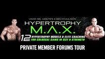 Hypertrophy MAX Review Forum Tour