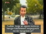 Funny - Man Imitating Motors