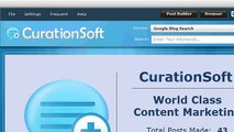CurationSoft.com - Search Settings and Options V2