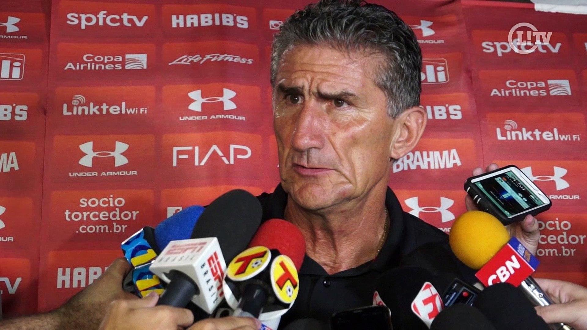 Bauza é direto sobre tropeço do São Paulo: 'Não atacamos bem'