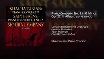 Piano Concerto No. 2 in G Minor, Op. 22: II. Allegro scherzando (World Music 720p)