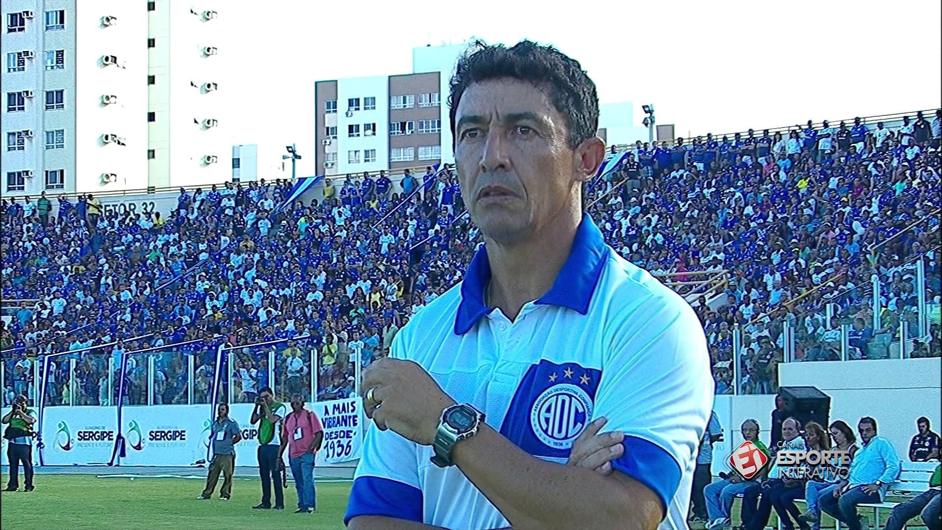 Por pouco! Time do Sergipe faz bela jogada e Rafael Sandes defende