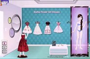 Barbie Flower Girl Dresses dress up game for girls Baby Games Baby and Girl games and cartoons AoI