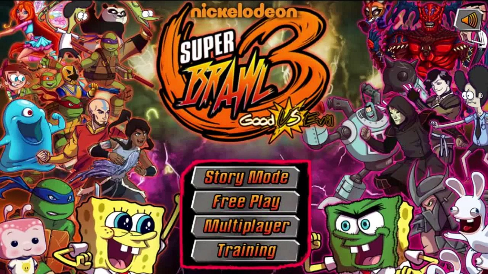 SpongeBob SquarePants: Super Brawl 3 - Nickelodeon Games