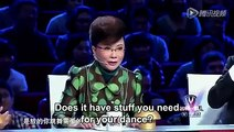 3 Year Old Chinese Boy Performs For An Audition