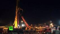 36 jours sous terre : quatre mineurs chinois rescapés sortent sous les applaudissements