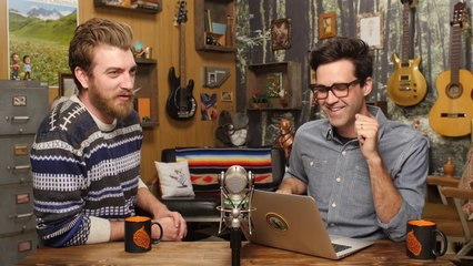 GMM - 7 Insane Beauty Treatments (GAME) - Good Mythical Morning - Rhett and Link