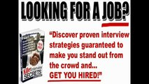 Killer Interview Secrets review User Reviews and Ratings