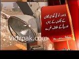 Orange Line affectees protest in Lahore Project workers escaped from site