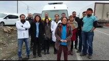 İdil - Gönüllü Doktorların Cizre'ye Girişine İzin Verilmedi