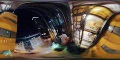 360 Climbing with Ashley Holland - 40 storey human flag - GoPro Spherical