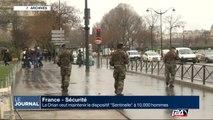 """Le Drian veut maintenir le dispositif """"Sentinelle"""" à 10.000 hommes"""