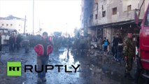 Syrie : 60 morts dans des explosions près de Damas revendiquées par Daesh