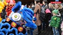 Rennes. Défilé haut en couleurs pour fêter l'année du singe