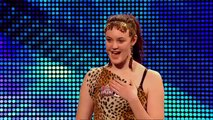Ashleigh and Pudsey - Britain\'s Got Talent 2012 audition - International version