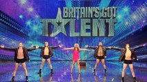 Lily and the Pineapple Hunks - Britain\'s Got Talent 2012 audition - International version