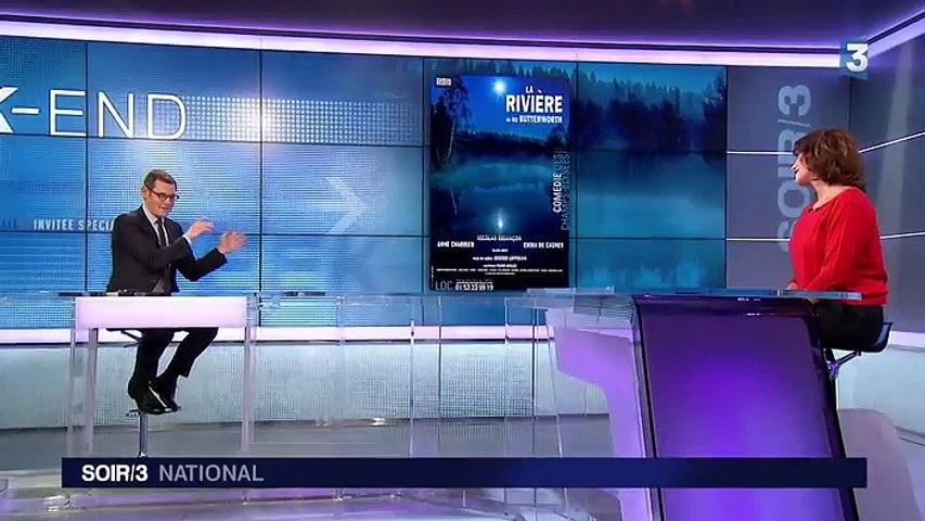 """Théâtre : les mystères d'Emma De Caunes dans """"La rivière"""""""